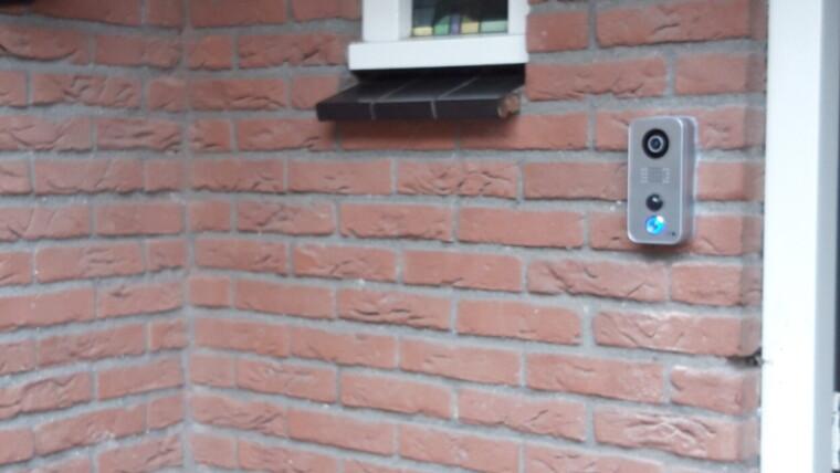 Oldenzaal - Camera beveiling met video deurbel